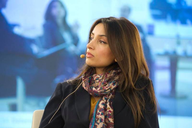 Film director and Fuuse CEO Deeyah Khan speaking at the United Nations