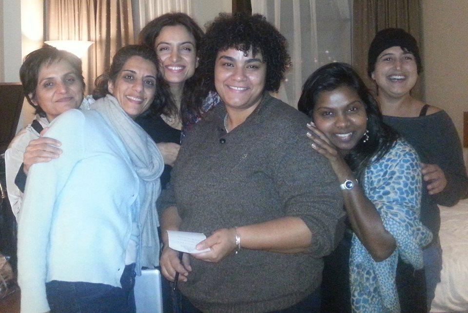 Deeyah Khan with Sanam Naraghi-Anderlini
