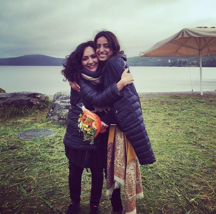 Mahsa Vahdat and Deeyah Khan