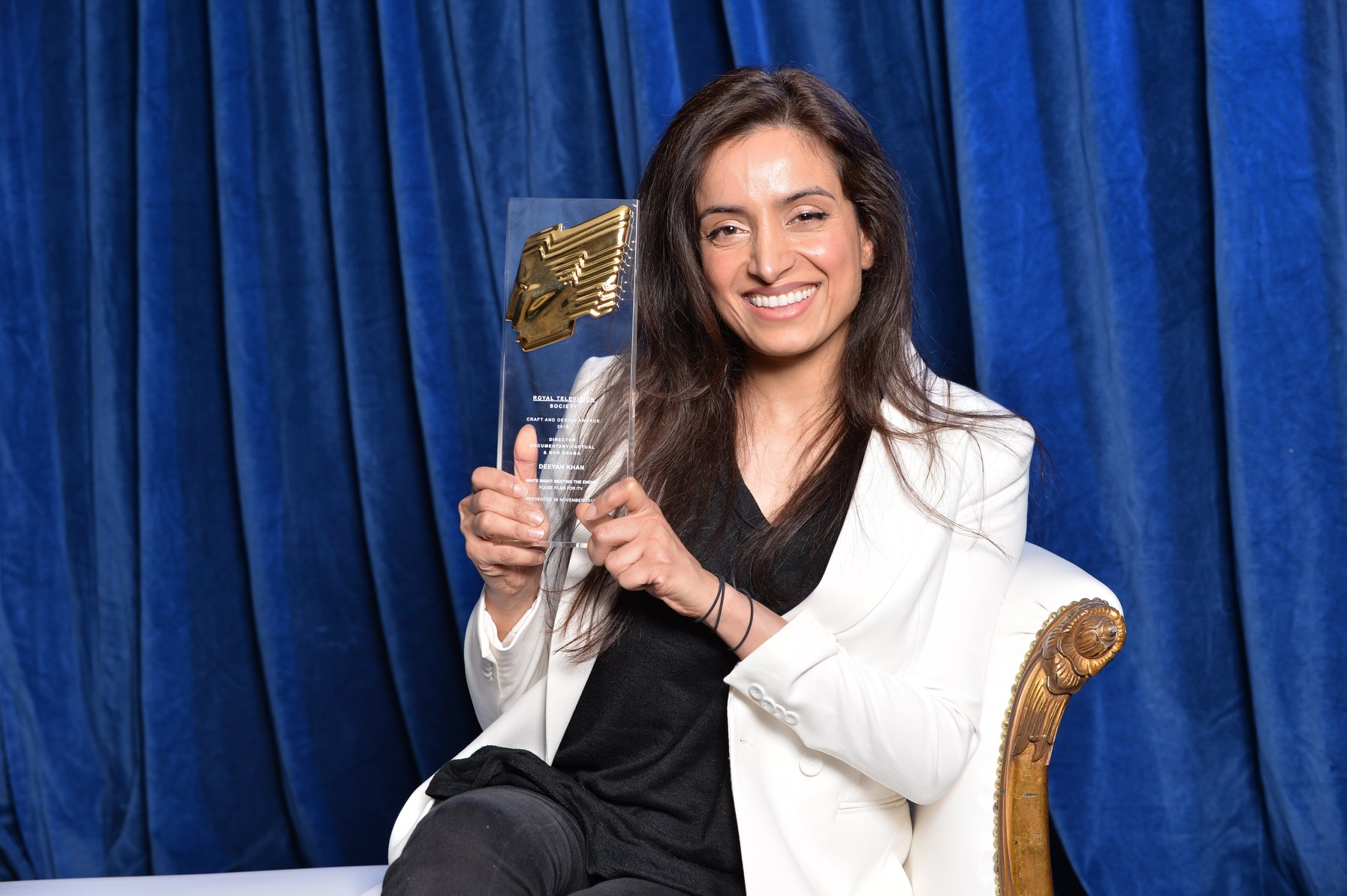 Deeyah Khan wins Royal Television Society award for Best Director - White Right Meeting the Enemy